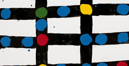Antonio Gonzalez - 100x70 Works - Dots colors 1 - 2